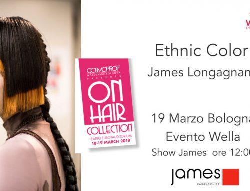 James Parrucchieri vi aspetta il 19 Marzo @ Cosmoprof